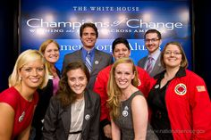 #CityYear Alums representing at #AmeriCorps Alums Day at #TheWhiteHouse