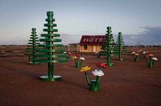 Life-size LEGO forest in Australia