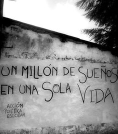 a million dream in just one life - Accion Poetica