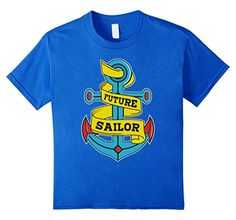 easter day craft Future Sailor Sailing T-Shirt Birthday Gifts Kids toddlers Boys girls