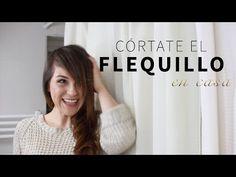 Cómo cortar el flequillo de lado | Deseo Beauty - YouTube