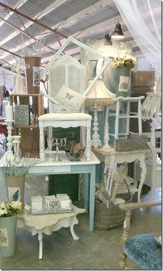 Stack it have 4 end tables and 1 plant table  stools. use in yellow door display. take home the console table and  paint