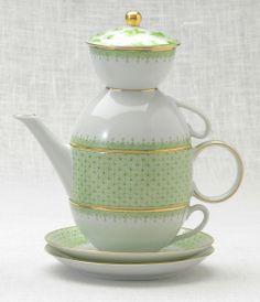 Love this tea set