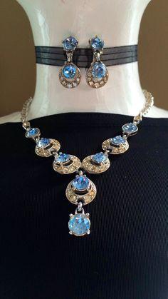 Vintage BOGOFF Necklace & Earrings Set: by FelixVintageMarket