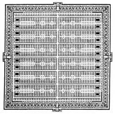 Egyptian Labyrinth, Plan