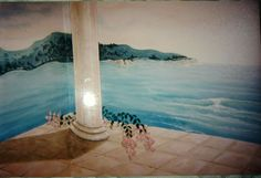 Mural for Russell Geyser Acrylics 1999