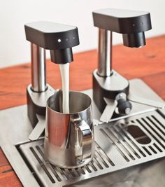 The Juggler milk-tap system. Genius. (The coffee is just better Down Under.)