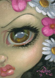 Little Flowers ACEO Card...