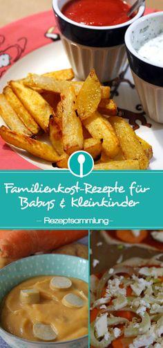 Leckere Familienkost-Rezepte, die der ganzen Familie und auch Kindern schmecken.