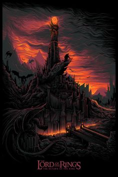 'The Lord Of The Rings: The Return Of The King' by Dan Mumford