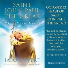 St. John Paul II, pray for us.  Read this fabulous book about him here  http://www.ignatius.com/Products/SJPG-H/saint-john-paul-the-great.aspx