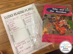Guided Reading plann