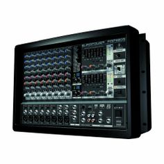 Behringer EUROPOWER PMP980S 900-Watt  10-Channel Powered Mixer by Behringer. $380.00. BEHRINGER EUROPOWER PMP960M  900-Watt 10-Channel Powered Mixer with Dual Multi-FX Processor and FBQ Feedback Detection System  Ultra-compact 2 x 450-Watt stereo powered mixer  Revolutionary amplifier technology: enormous power, incredible sonic performance and super-light weight  Ultra-compact design at nearly half the depth and weight of conventional powered mixers means no more luggi...