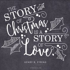 Christmas Is a Story of Love