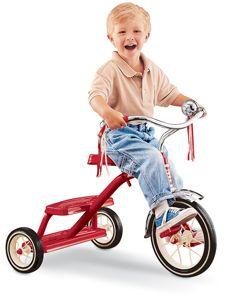 Tricycle rétro rouge - Jouet Radio Flyer Tricycles - Place des Gônes