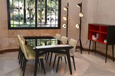 Racines table and Vik chairs @ French Ambassador Palace Event in Istanbul #ligneroset #furniture #design
