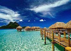 Enjoy Bora Bora vacations on Bora Bora, the island of paradise. The Bora Bora Pearl Beach Resort offers luxury accommodation and surroundings. Dream Vacation Spots, Vacation Destinations, Dream Vacations, Holiday Destinations, Romantic Destinations, Romantic Vacations, Romantic Getaway, Italy Vacation, Places To Travel