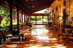 A converted historic Yucatan plantation hacienda, transformed into a privately owned and operated small luxury hotel.