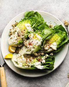 Italian Chopped Salad, Wedge Salad, Caesar Salad, Best Appetizers, Salad Ingredients, Roasted Sweet Potatoes, Fruit And Veg, Salad Recipes, Entrees