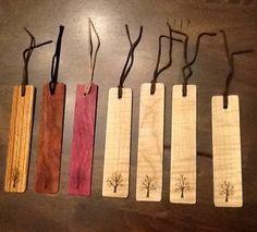 exotic woods...book marks made my member of LumberJocks.com