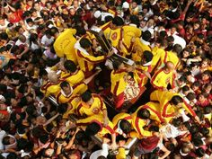 Feast of the Most Holy Black Nazarene, Philippines  Photograph by Aaron Favila/AP