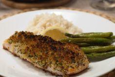MRS. T'S EATS: Panko Crusted Salmon
