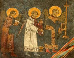 Liturgia niebiańska Painting, Painting Art, Paintings, Painted Canvas, Drawings