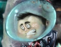 That's No Moon by Steven K. Smith, via Behance
