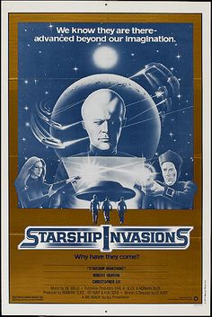 space1970: STARSHIP INVASIONS (1977) International Theatrical Posters