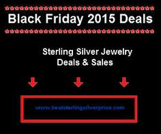 Sterling Silver Jewelry Deals & Sales on Black Friday 2015 , Black Friday Jewelry Sterling Silver Jewelry, 925 Silver, Basketball Shoes On Sale, Shoe Deals, Deal Sale, Shoes Online, Black Friday, Cool Stuff