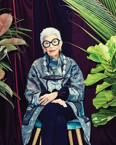 "22.1k Likes, 160 Comments - Iris Apfel Official  (@iris.apfel) on Instagram: ""You can read the @footwearnews cover story clicking on the link in my bio. Photo credit:…"""