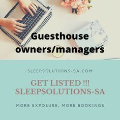 Do you own or manage a guesthouse? Do you need free publicity? Get your establishment listed on our website today!