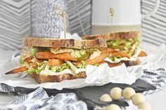 Binge-Watching Food | Rezept für Cajun Pulled Chicken, Süßkartoffel-Pommes & Guacamole Sandwich für den perfekten Fernsehabend mit EDEKA.