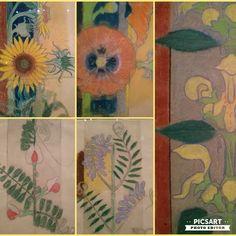"""Aśka Lorenc (@asia_lo_r) na Instagramie: """"#kwiatkibratki #wyspianski #mnk  #popy #sunflower #flowers #weeds #wystawa #exhibition #museum…"""""""