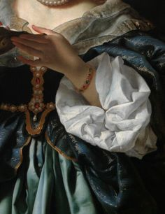 "detailsofpaintings: "" Carlo Dolci, Salome with the Head of St. John the Baptist (detail) 1665-70 """