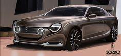 Torino 380 Concept  by Facundo Castellano, via Behance