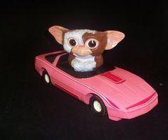 Vintage 1984 Gremlins BARBIE GIZMO Corvette Car Toy ERTL. $25.00, via Etsy. #gizmo #gremlin #barbie
