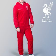Personalised Adult Liverpool Onesie | GettingPersonal.co.uk