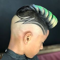 Trendy Slicked Back Hair Men Long Bald Fade Baddie Hairstyles, Boy Hairstyles, Hair Tattoo Designs, Boys Fade Haircut, Hair Art, Men's Hair, Shaved Hair Designs, Men Hair Color, Haircut Designs