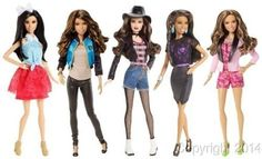 2014 Fifth Harmony Normani Dinah Ally Camila Lauren - Barbie Life In Dreamhouse Dolls