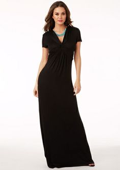 Dylan Knot-Front Maxi from Alloy on Catalog Spree, my personal digital mall.