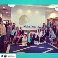We had a great time meeting with our good friends at @alphadeltapi yesterday to help them prepare the @adpilcs for life on the road. Safe travels ladies! @repostapp ・・・ I think it's safe to say that finance was an area we all struggled with. 💸 We are so grateful to Cassie Sherry, Deborah Easler, April Caltabiano, and @omegafi for giving us a much needed education!