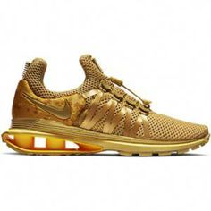 NIB Nike Shox Gravity 'Metallic Gold' women's sneakers – free USA shipping Retro Nike Shoes, Nike Shox, Sneakers Fashion, Adidas Sneakers, Metallic Gold, Shopping, Usa, Free, America