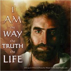Jesus, the ONLY way to heaven. Jesus Art, Jesus Is Lord, Pictures Of Jesus Christ, Jesus Painting, Peace Painting, Prince Of Peace, Faith In God, Heavenly Father, Jesus Loves
