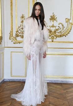 Vibes for faux fur for winter wedding. Riccardo Tisci Presents Givenchy Haute Couture Fall 2010