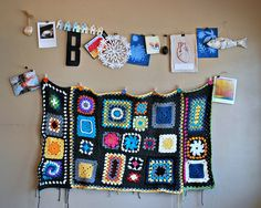 crochet sampler by smoothpebble, via Flickr