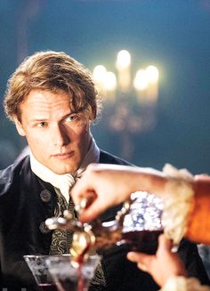 Sam Heughan in 'Outlander' (2014).