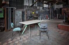 RECTANGULAR LIVING ROOM TABLE TYPUS BY WILDE+SPIETH DESIGNMÖBEL | DESIGN ALEXANDER NETTESHEIM, HEIDI EDELHOFF