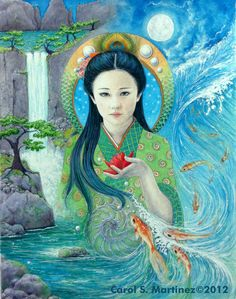 Quan Yin, Goddess of Compassion by Carol S. Martinez
