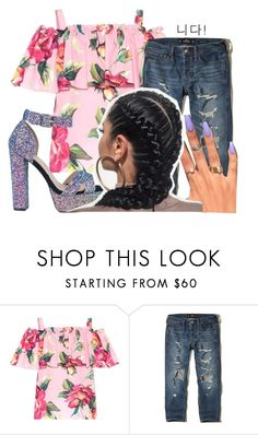 """✨BBY✨"" by mykailll ❤ liked on Polyvore featuring Dolce&Gabbana and Hollister Co."